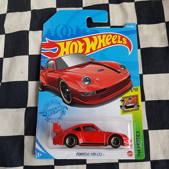 Hot Wheels 2021 Exotics Porsche 993 GT2 Red