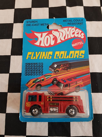 Vintage Hot Wheels 1979 Flying Colours Fire Eater Blackwalls