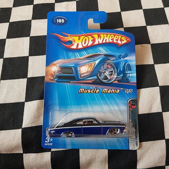 Hot Wheels 2005 Muscle Mania 1965 Chevy Impala Black/Blue