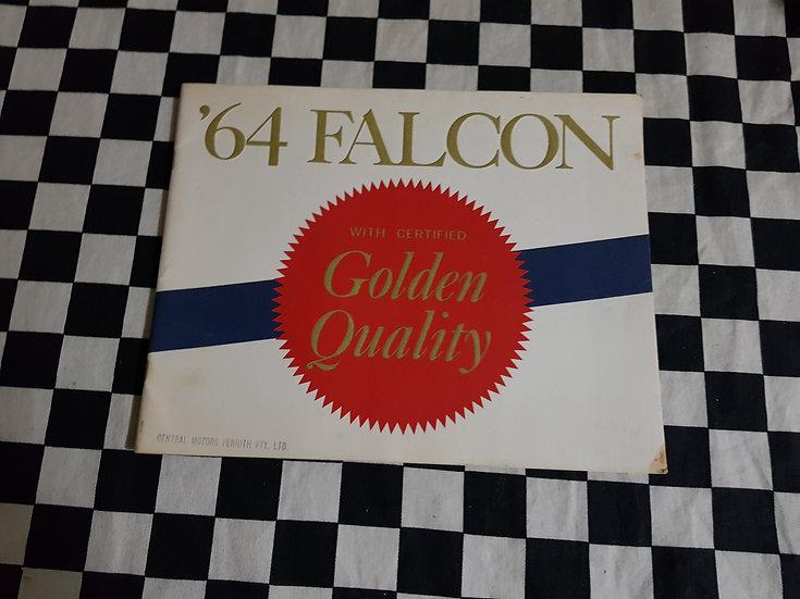 64 XM Falcon Golden Quality Australian Sales Brochure