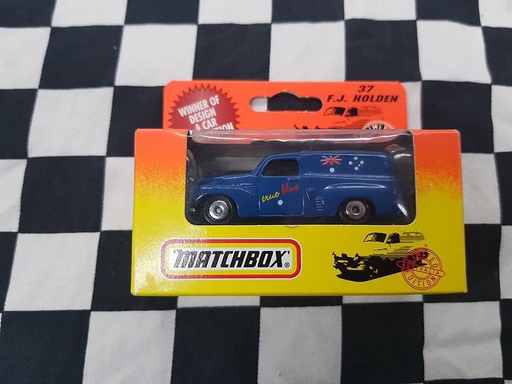Matchbox True Blue FJ Holden Van #37