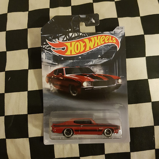 Hot Wheels 2020 American Steel 70 Buick GSX Red