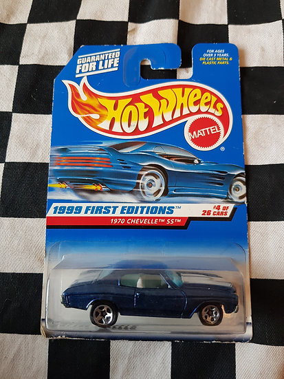 Hot Wheels 1999 First Editions 1970 Chevelle SS