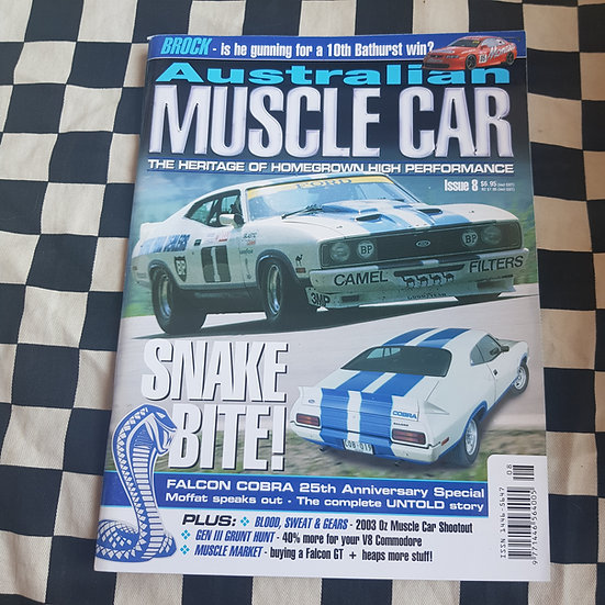 Australian Muscle Car Magazine Issue 8