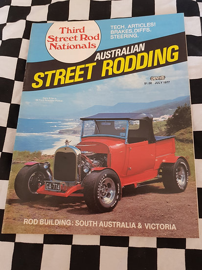 Australian Street Rodding #2 July 1977