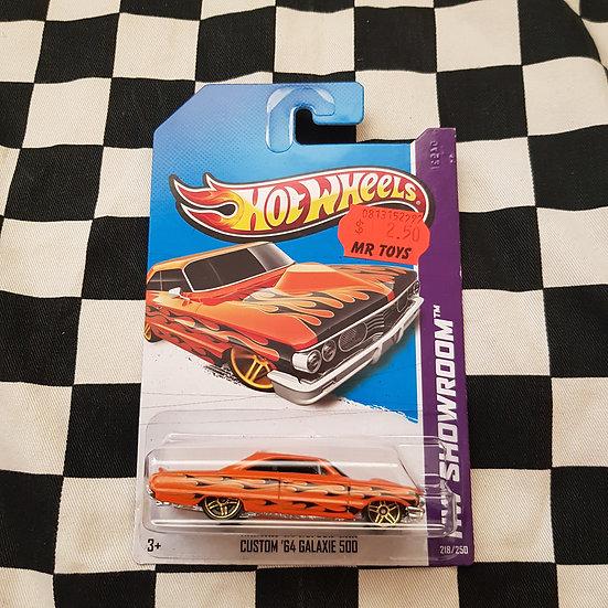 Hot Wheels 2013 Showroom Custom 64 Galaxie 500 Orange