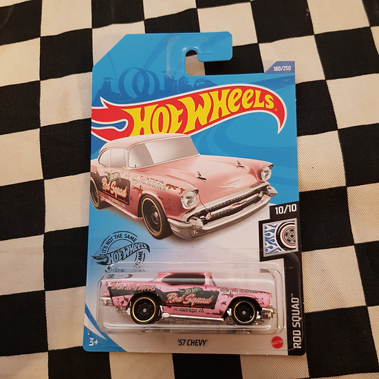 Hot Wheels 2020 Rod Squad 57 Chevy Pink
