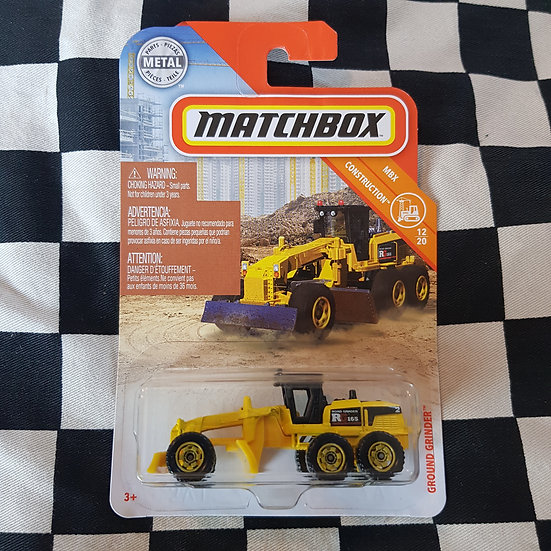 Matchbox MBX  Ground Grinder  Grader