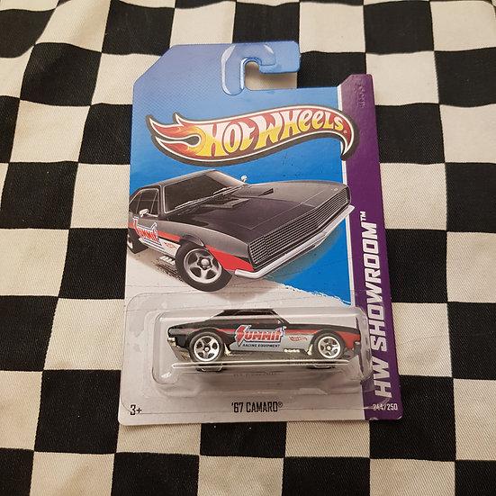 Hot Wheels 2013 Showroom Summit 67 Camaro Black