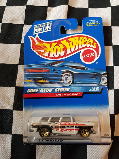 Hot Wheels 1998 Surf n Fun Chevy Nomad