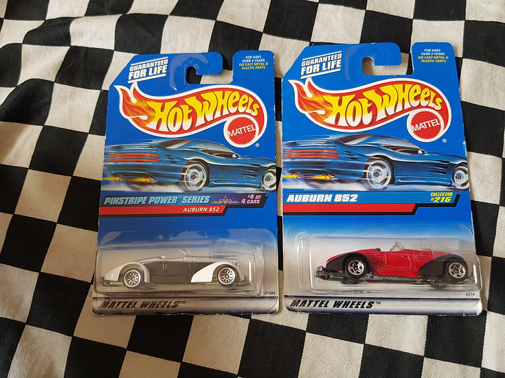 Hot Wheels Auburn 852 Choice of 2