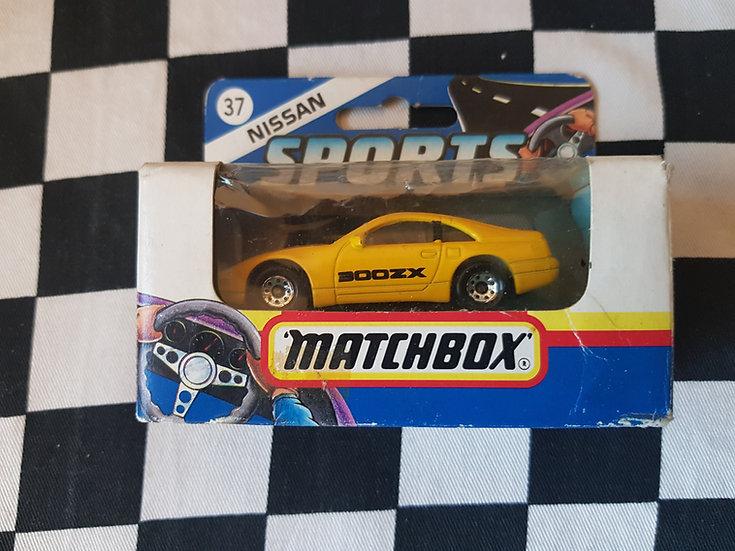 Matchbox #37 Nissan 300ZX Yellow JDM