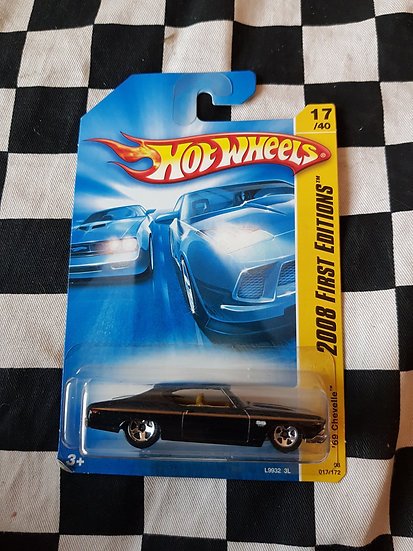 Hot Wheels 2008 First Editions 1969 Chevelle Black