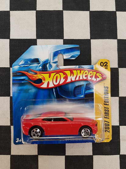 Hot Wheels 2007 First Editions Chevy Camaro Concept Red