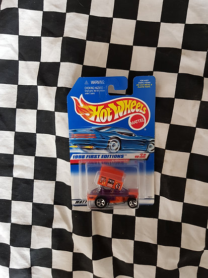 Hot Wheels 1998 First Editions Slideout Speedway Car