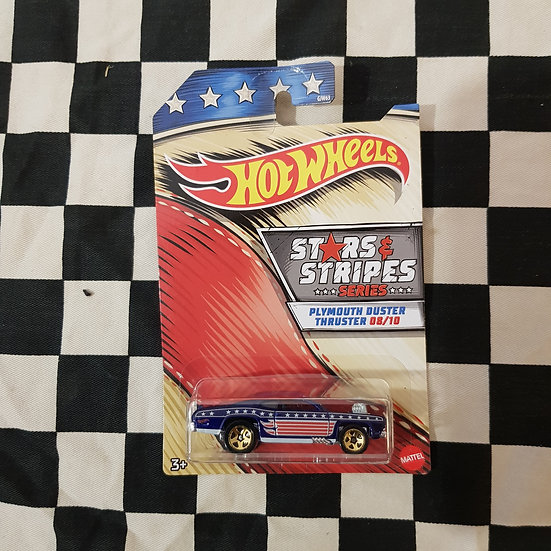 Hot Wheels 2020 Stars & Stripes 8/10 Plymouth Duster Thruster