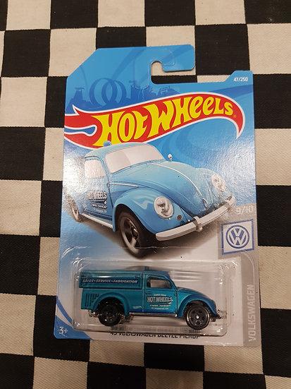 Hot Wheels 2019 Volkswagen Series 49 VW Beetle Pickup Blue