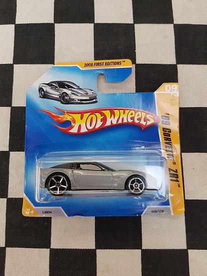 Hot Wheels 2008 First Editions 09 Corvette ZR1