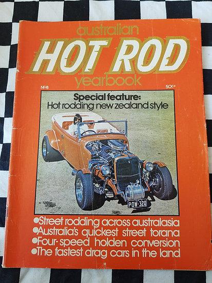 AUSTRALIAN HOTROD YEARBOOK #8 1973