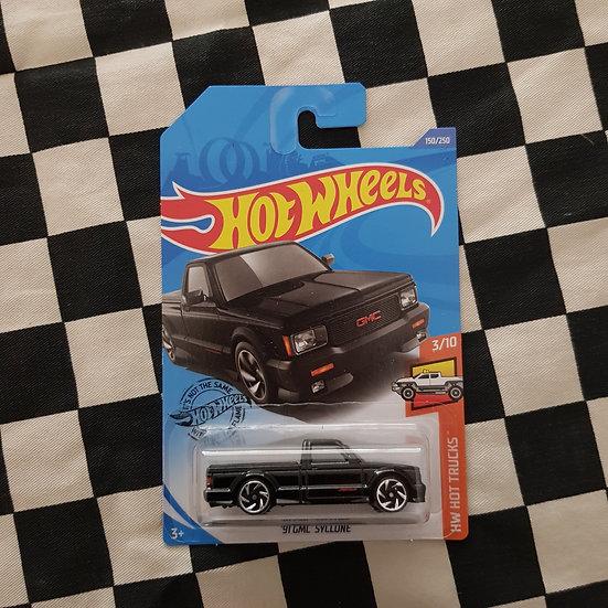 Hot Wheels 2020 Hot Trucks 91 GMC Syclone Pickup Black