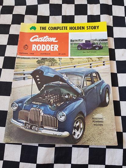 Custom Rodder Magazine #4 HARDEST ISSUE OF ALL TO FIND