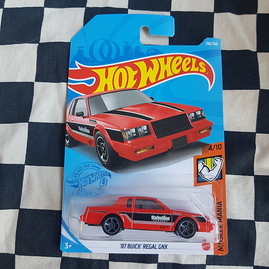 Hot Wheels 2021 Muscle Mania 87 Buick Regal GNX Red