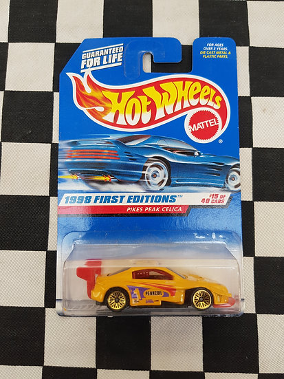 Hot Wheels 1998 First Editions Pikes Peak Celica