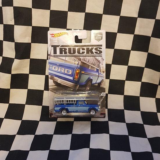 Hot Wheels Car Culture Trucks Ford F250 Real Riders