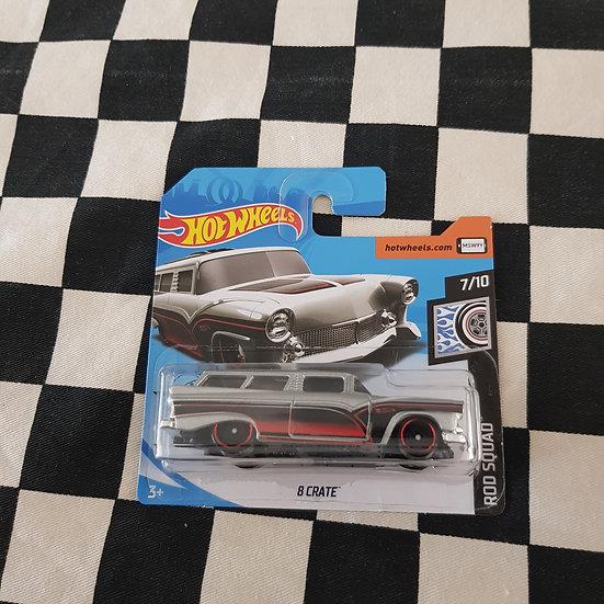 Hot Wheels 2020 Rod Squad 8 Crate 56 Customline Wagon Short Card