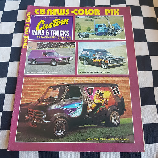 Custom Vans & Trucks Magazine #3