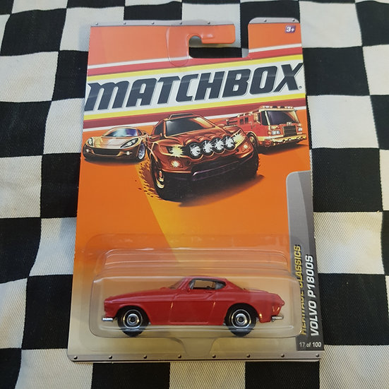 Matchbox 2009 Heritage Classics Volvo P1800s Coupe Red