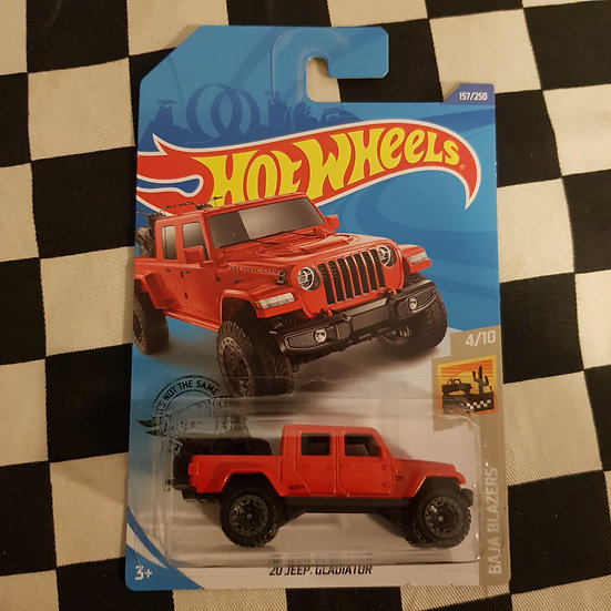 Hot Wheels 2020 Baja Blazers 20 Jeep Gladiator Red