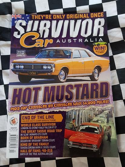 SURVIVOR CAR AUSTRALIA magazine #20