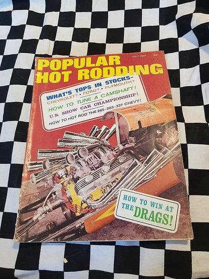 Popular Hot Rodding Magazine July 1965