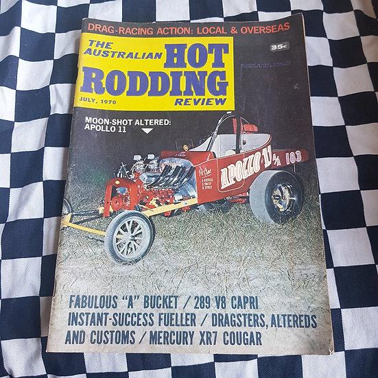 Australian Hot Rodding Review July 1970