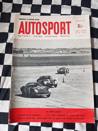 AutoSport Magazine March 27 1964 (british)
