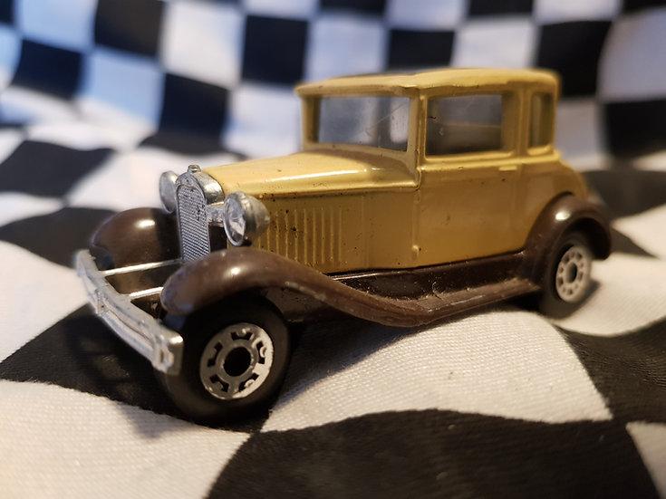 Matchbox Model A Ford Vintage loose model car (cream)
