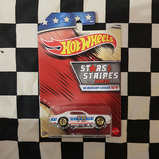 Hot Wheels 2020 Stars & Stripes 10/10 68 Mercury Cougar
