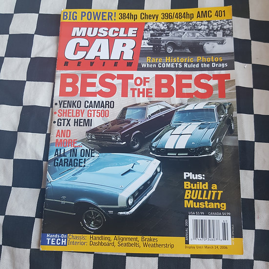 Muscle Car Review Magazine 2005 Annual USA