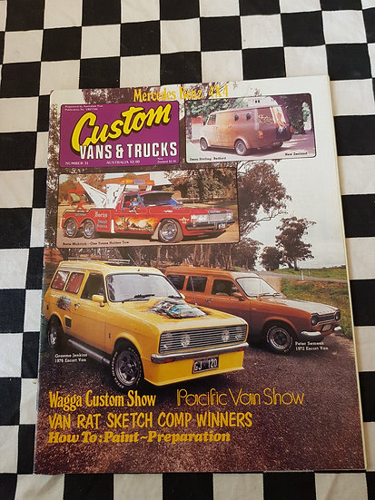 CUSTOM VANS & TRUCKS magazine #31