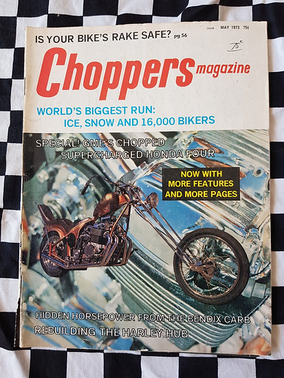 Choppers magazine May 1973