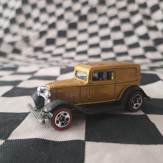Hot Wheels Redline Variation 32 Ford Delivery Gold Loose
