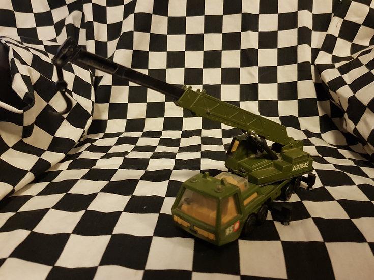 Vintage Matchbox Super Kings Hercules Mobile Army Crane