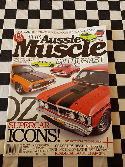 THE AUSSIE MUSCLE ENTHUSIAST magazine #1