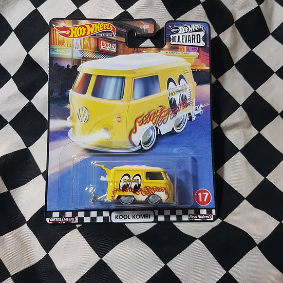 Hot Wheels Premium Boulevard Mooneyes Kool Kombi