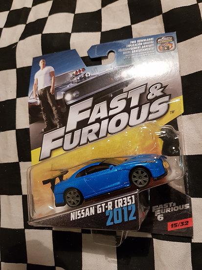 Fast & Furious 1:50 Nissan GTR R35 VHTF