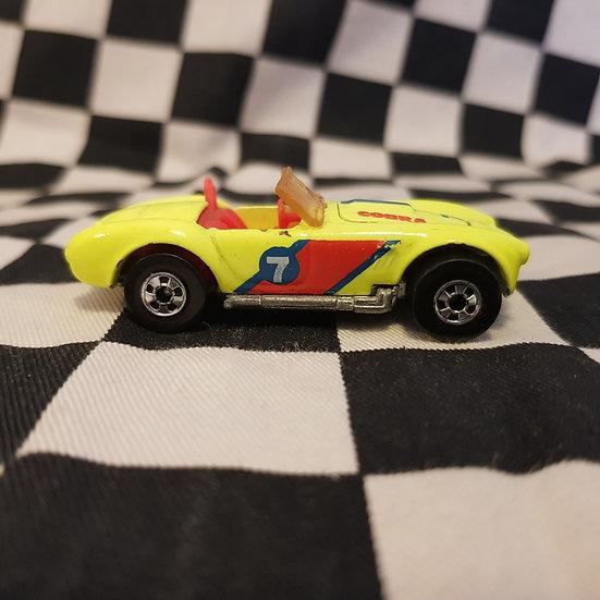 Hot Wheels Vintage Loose Cal Custom Shelby Cobra Yellow