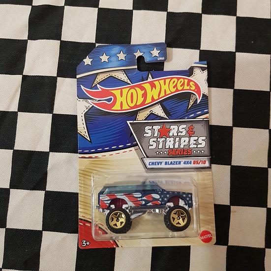 Hot Wheels 2020 Stars & Stripes 5/10 Chevy Blazer 4x4