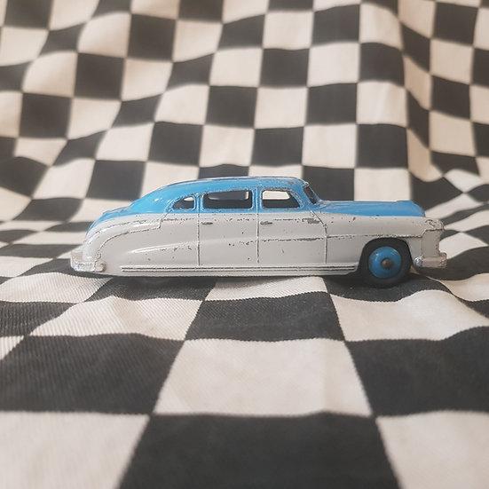 Vintage Dinky Toys Hudson Hornet Sedan Grey/Blue