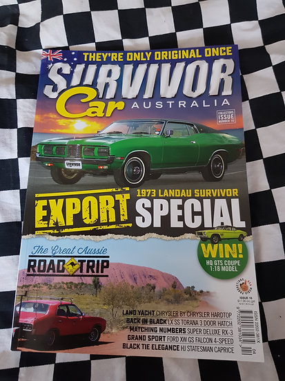 SURVIVOR CAR AUSTRALIA magazine #16